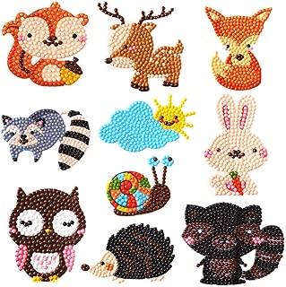 400 magic 5D DIY Diamond Painting Kits for Kids Diamond Kits Paint by Numbers Diamonds - Animal Sticker