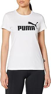 PUMA Ess Logo Tee, Maglietta Donna
