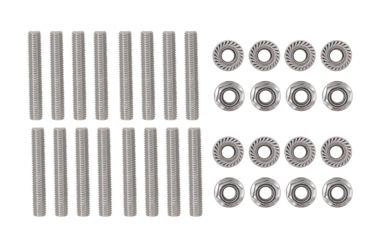Stainless Exhaust Manifold Stud kit 2 Manifolds for Ford F150 4.6 /& 5.4 Liter V8