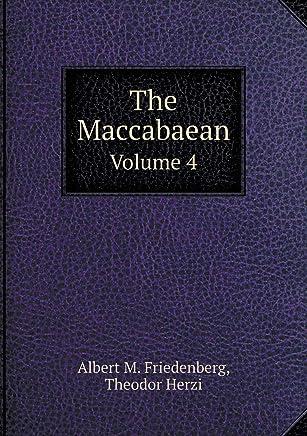 The Maccabaean Volume 4