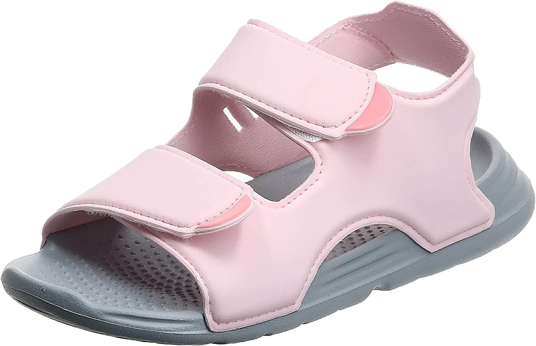 adidas Swim Sandal C Pink Synthetic Child Strap Sandals