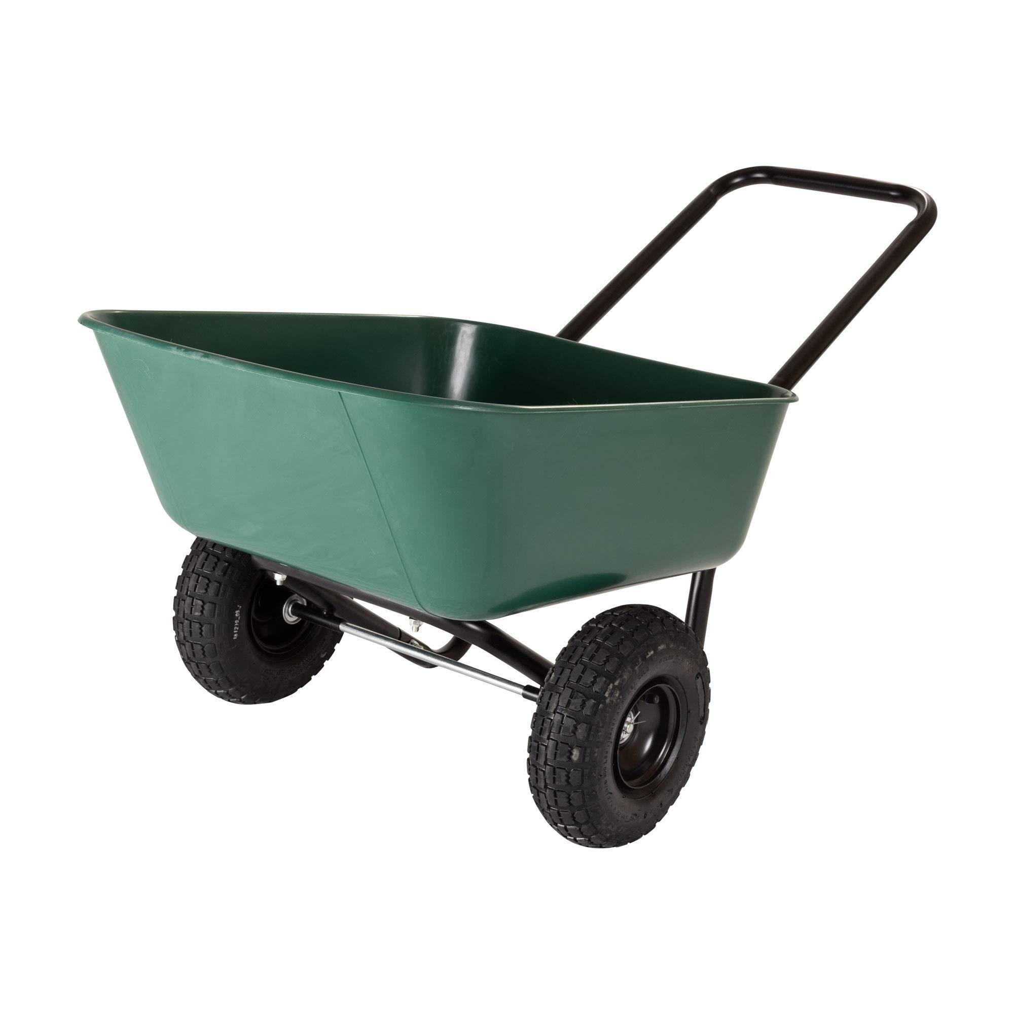 Garden 70019 Barrow Dual Wheel Wheelbarrow