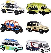 Dickie Majorette 212057601Explorer Assortment, exploradores de vehículos, vehículos en Miniatura, 6Varios. Modelos, Die-Cast, 7, 5cm