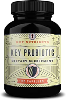 Daily Time-Release Probiotics, Key Probiotic: Patented Acid Resistant Capsules Deliver More Live Cultures to Intestines for Immune and Digestive Support (1)