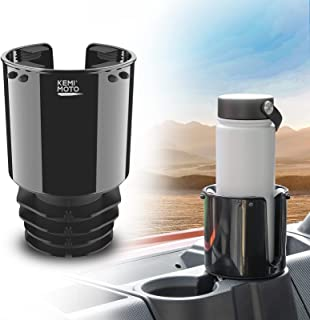kemimoto Cup Holders for 18-40 OZ Bottles, Large Cup Holder Adapters Fit for Universal Car Cup Holder, Bottle Holders Comp...