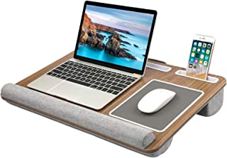 HUANUO Lap Desk - Fits up to 17 inches Laptop Desk, Built...
