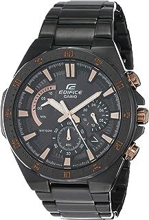 ساعة كاسيو انالوج بمينا سوداء للرجال-EFR-563DC-1AVUDF (EX489)