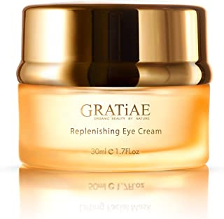 Gratiae Organics Replenishing Eye Cream, 1.02-Ounce