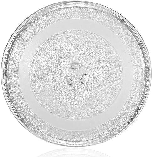 Plateau tournant universel en verre pour micro-ondes - 3 fixations, 245 mm
