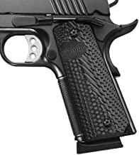 Cool Hand 1911 Full Size G10 Grips, Gun Grips Screws Included, Mag Release, Ambi Safety Cut, OPS Texture