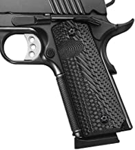 Cool Hand 1911 Full Size G10 Grips, Screws Included, Mag Release, Ambi Safety Cut, OPS Texture