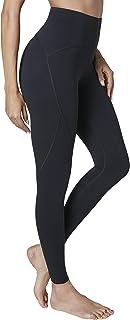 Nioco Women's High Waist Leggings Athletic Tights 7/8 Ankle Length Tummy Control Yoga Capris Workout Pants