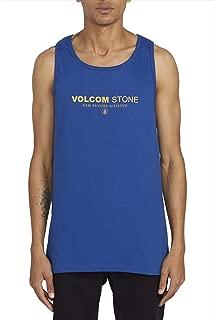 Men's Clock Worker Basic Fit Tank Top Shirt