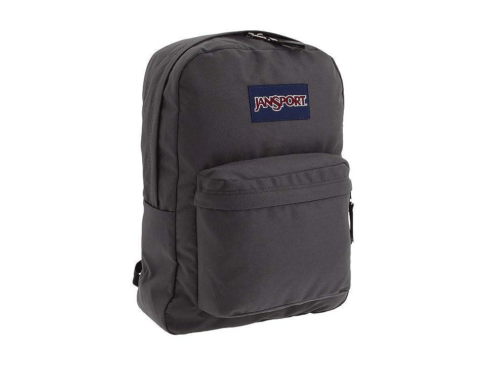 JanSport SuperBreak(r) (Forge Grey) Backpack Bags