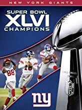NFL Super Bowl XLVI Champions New York Giants