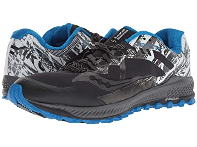 Saucony Peregrine 8 ICE+ (Black/White) Men