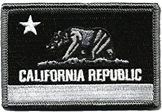 California Tactical Patch - Black & White