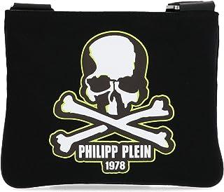 Philipp Plein Moda De Lujo Hombre MBA0896PTE003N02 Negro Poliéster Bolso Messenger | Primavera-verano 20