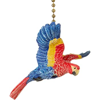 Tropical Toucan Bird Decorative Ceiling Fan Pull