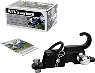 Komodo ATV ATV3WH22 ATV 3-Way Receiver Hitch with 2