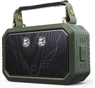 DOSS Wireless Portable Bluetooth Waterproof Speaker - Green