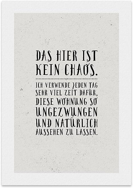 Mein leben ist ein chaos sprüche