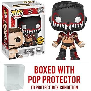 Funko Pop! WWE Finn Balor CHASE VARIANT Vinyl Figure (Bundled with Pop BOX PROTECTOR CASE)