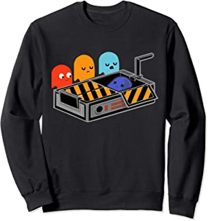 Man Pac Busted The Ghost - Funny Sweatshirt
