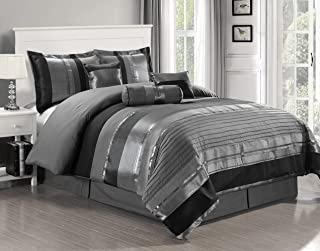 Best black and silver king size bedding Reviews