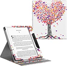 TiMOVO Case Compatible for All-New Kindle Oasis (10th Generation, 2019 Release), Vertical Multiple Viewing Angles Flip Stand Cover with Auto Wake/Sleep Fit Amazon 7