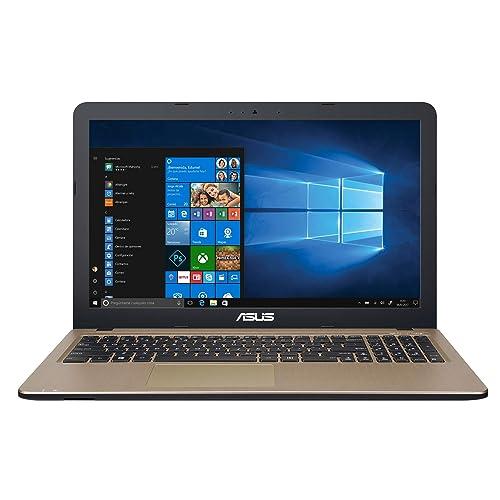 """ASUS K540LA-XX1313T - Ordenador portátil de 15.6"""" HD (Intel Core i3-5005U, 4 GB RAM, 1 TB HDD, Intel HD Graphics 5500, Windows 10 Original), Negro Chocolate - Teclado QWERTY Español"""