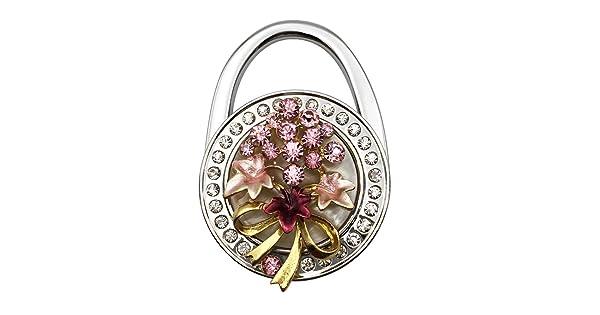 Grtdrm Beautiful Grape Style Premium Foldable Handbag Bag Hanger Hook Holder
