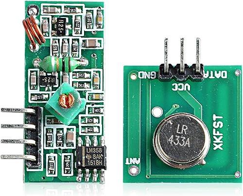 Neuftech® 433mhz Módulo de RF Kit de transmisor Receptor inalámbrico para Arduino Arm MCU