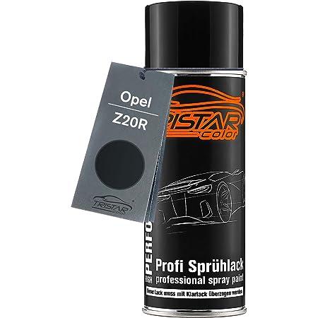 Tristarcolor Autolack Spraydose Für Opel Z20r Saphirschwarz Metallic Black Sapphire Metallic Basislack Sprühdose 400ml Auto