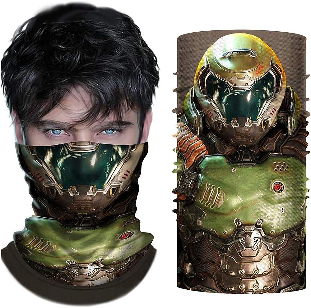 Financial sales sale Regular discount Doom Mask Cosplay Eternal Helmet Accessories Face Costume S Prop