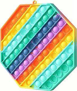 Big Pop Its Jumbo Pop Its - Huge Pop Fidget It Toy - Sensory Big Pop Its Fidget It Toy for Stress Relief