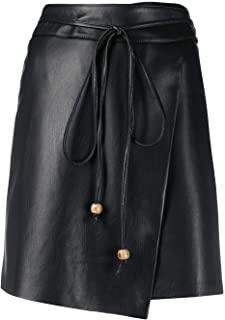NANUSHKA Luxury Fashion Womens WSK00073BLACK Black Skirt |
