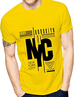 Ghantababajika Men`s Printed NYC Urban T-Shirt | Quote T-Shirts