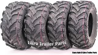 Wanda P341 ATV/UTV Tires 25 x 8-12 Front & 25 x 10-12 Rear, Set of 4 …