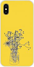 Cell Phone Shell Case Hippie Aesthetics Yellow Pattern for iPhone X XR XS MAX 4 4S 5 5S 5C SE 6 6S 7 8 Plus iPod Touch 5 6-in Half,Images 3,for iPhone Xs Max