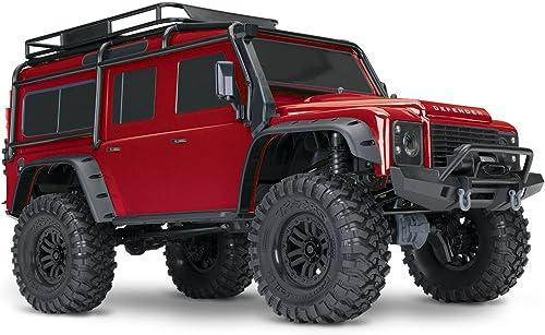 barato en línea TRX-4 TRX-4 TRX-4 LAND ROVER DEFENDER rojo - TRAXXAS - TRX82056-4-rojo  venta con alto descuento