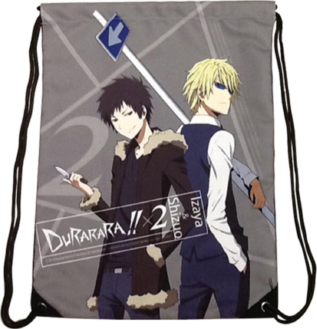 Durarara 5 ☆ popular X2 - Izaya Shizuo Drawstring Popular standard Bag