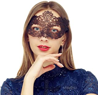 Best maroon masquerade mask Reviews