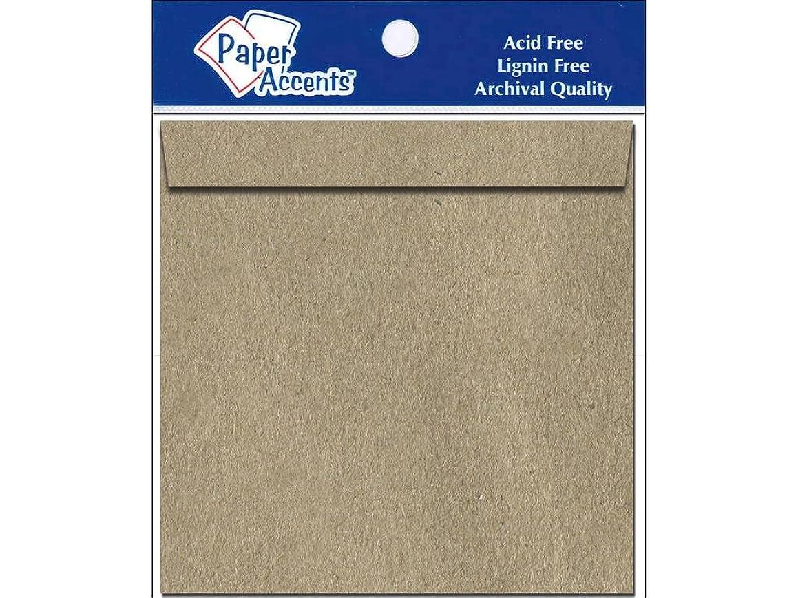 Accent Design Paper Accents Env 12.25x12.25 Brown Bag Env12.25x12.25BrnBg