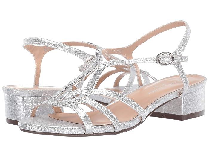 70s Shoes, Platforms, Boots, Heels Paradox London Pink Rita Silver Womens Shoes $26.98 AT vintagedancer.com