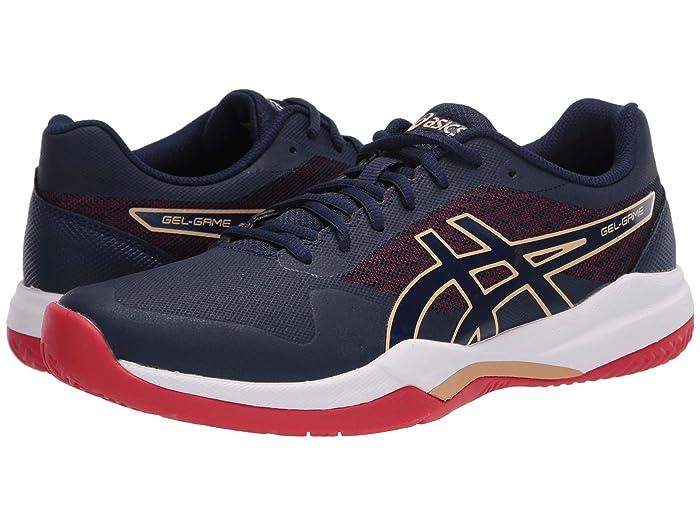 ASICS  Gel-Game 7 (Peacoat/Peacoat) Mens Tennis Shoes