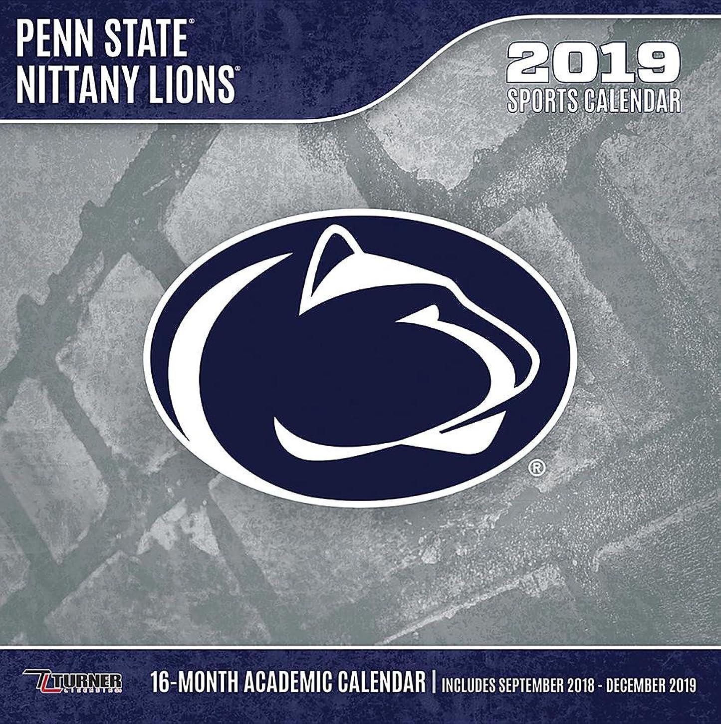 椅子範囲デクリメントPenn State Nittany Lions 2019 Calendar