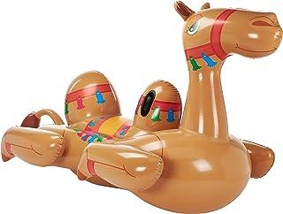 """Bestway Camel Pool Float, 41125, 2.21m x 1.32m / 7'3"""" x 52"""", Brown"""