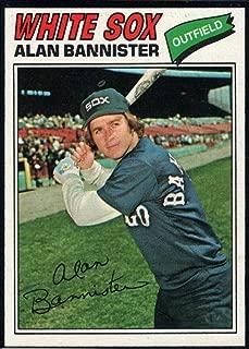 Baseball MLB 1977 Topps #559 Alan Bannister RC White Sox