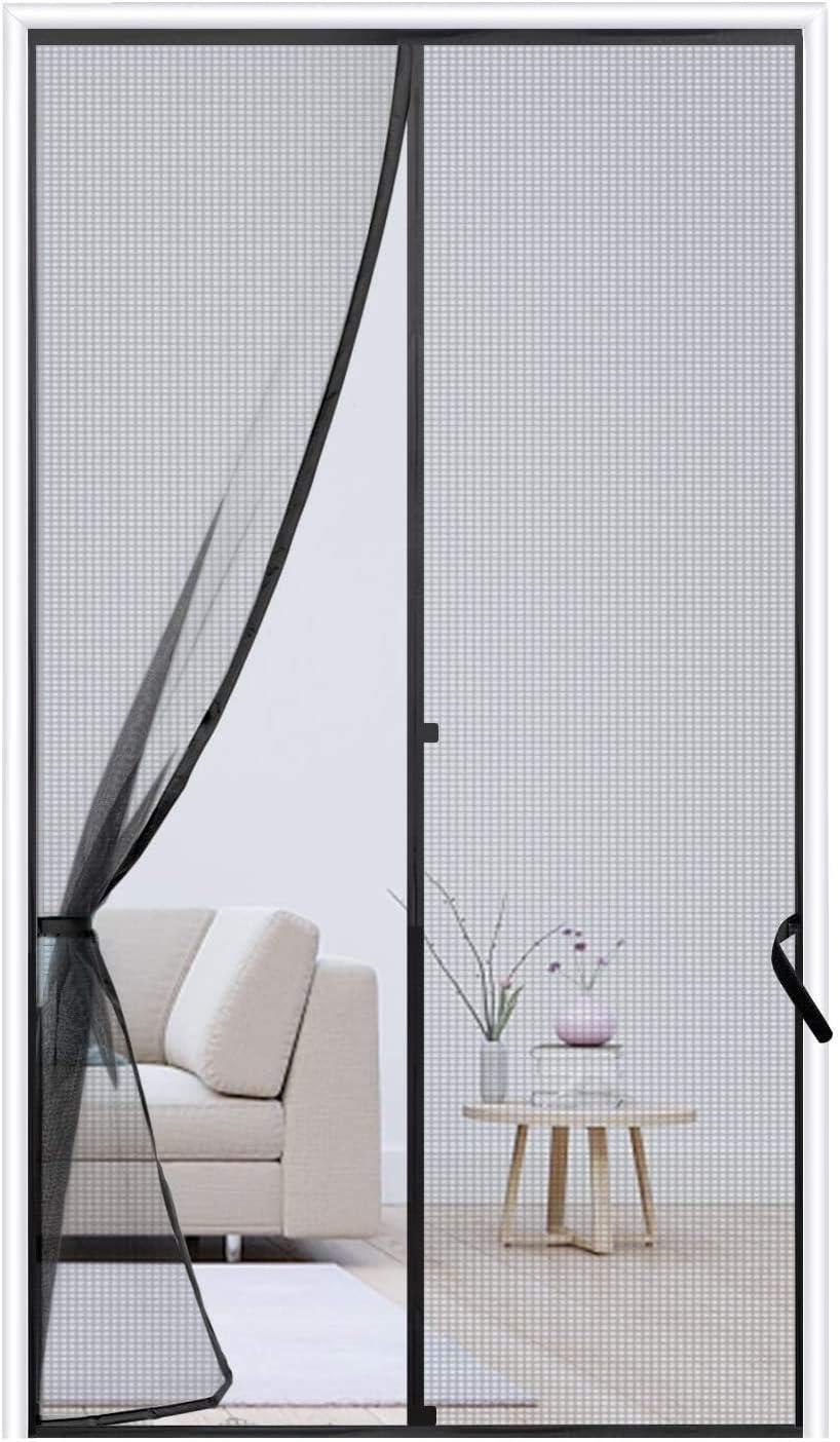 Chicago Purchase Mall Magnetic Screen Door 38 x 82 Fiberglass Curtain Mesh Reinforced